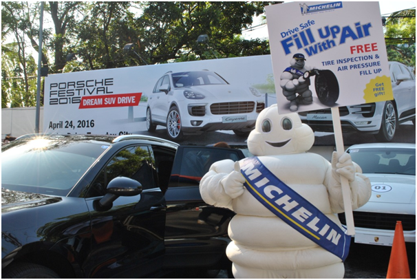michelin conducts michelin safe on the road activity at s r alabang motoph